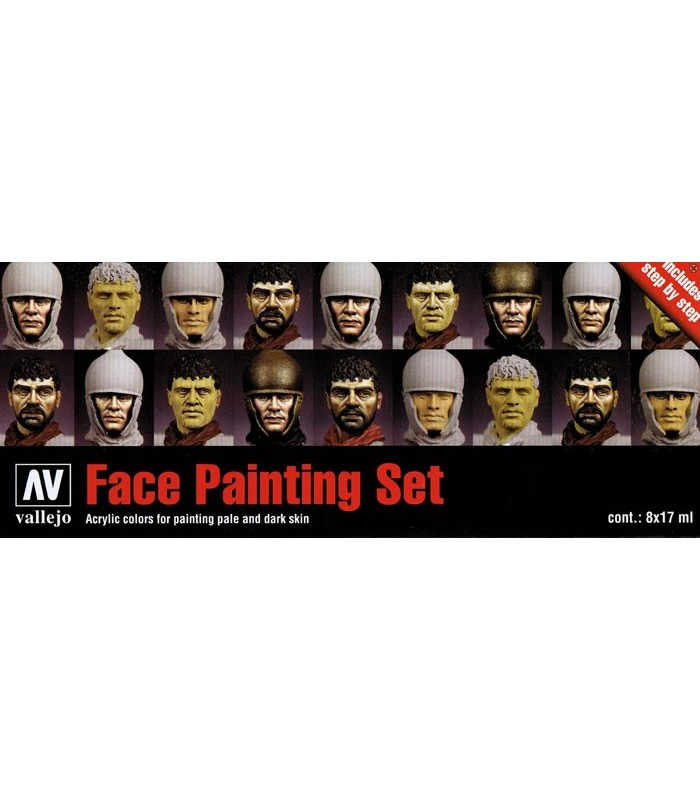 Set para caras model color 70119