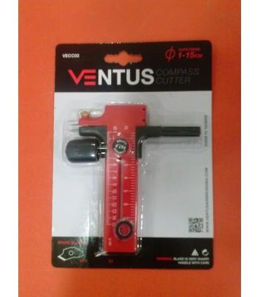 Compás Cutter Ventus 1-15cm