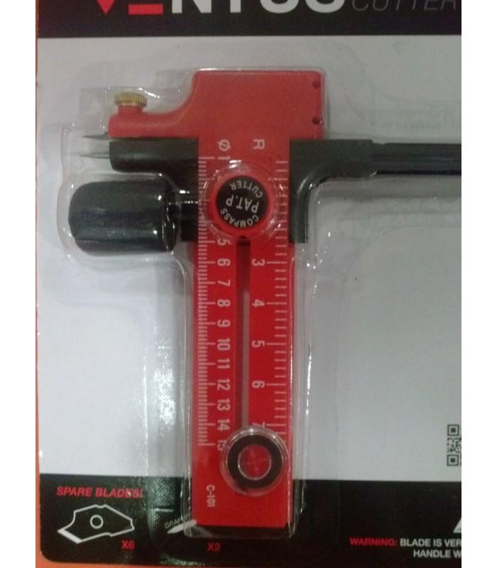 Compás Cutter Ventus 3-50cm