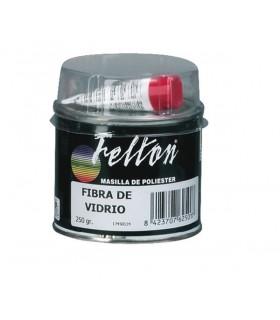 Masilla poliester fibra de vidrio Felton 250g