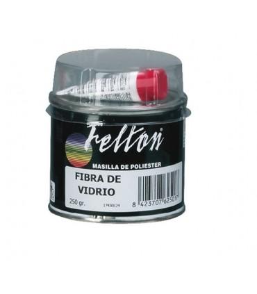 Masilla poliester fibra de vidrio Felton 350g