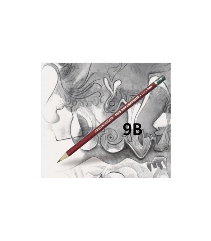 Lápiz cretacolor grafito 9B
