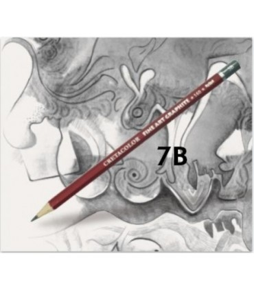 Lápiz cretacolor grafito 7B