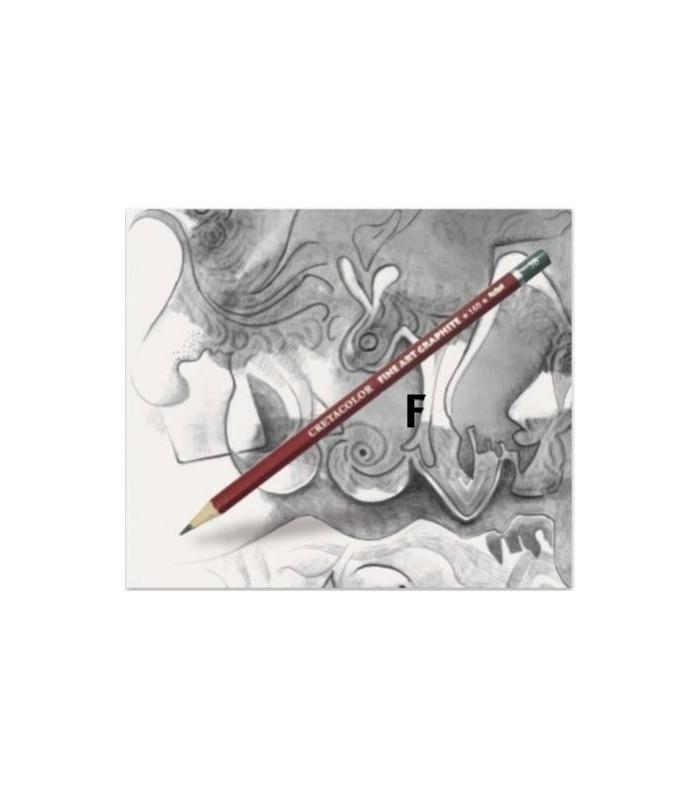 Lápiz cretacolor grafito F