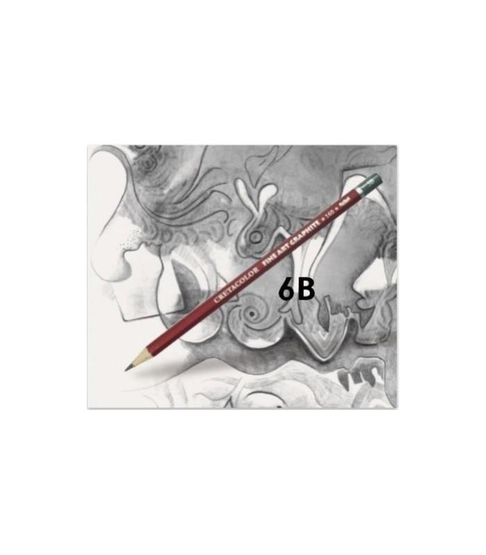 Lápiz cretacolor grafito 6B