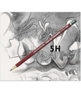 Lápiz cretacolor grafito 5H