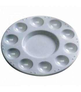 Paleta circular plástico 11 pocillos