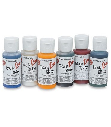 Pintura Body Paint Totally Tattoo Badger 30ml