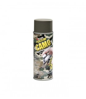 Spray vinilo protector camo verde 400ml