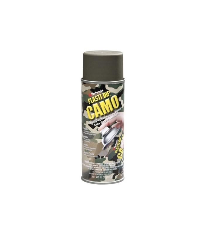 Spray vinilo protector camo verde 400ml