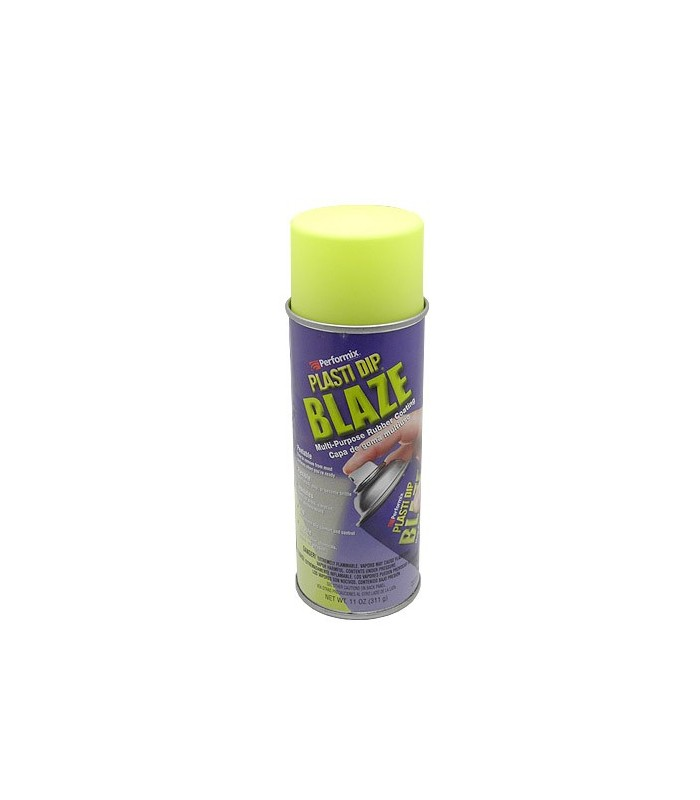 Spray vinilo Plasti Dip fluorescente Amarillo 400ml