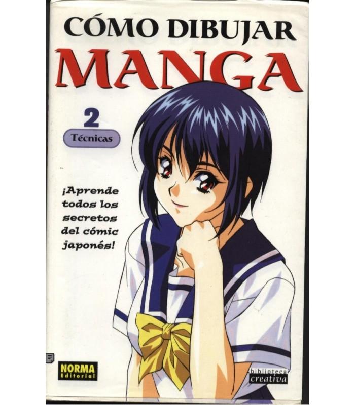Cómo dibujar Manga Vol. 2 Técnicas tienda venta online