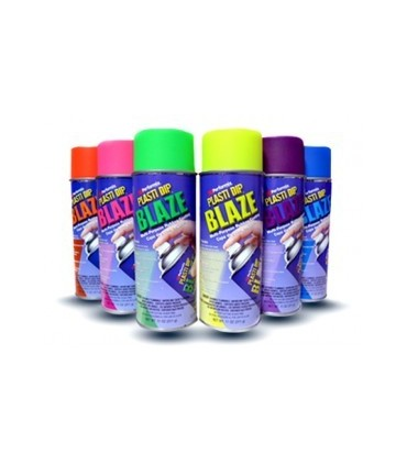 Spray vinilo Plasti Dip fluorescente Violeta 400ml.