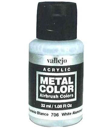 Metal Color 77716 Aluminio Satinado 32ml Vallejo