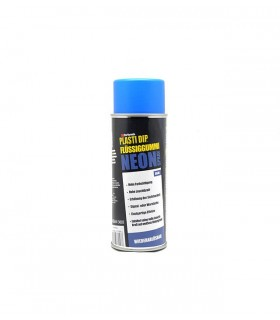 Spray Plasti Dip Vinilo Azul Fluorescente 400ml Mate