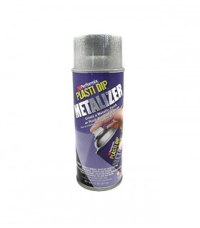 Spray Plasti Dip Efecto Aluminio Brillante 400ml
