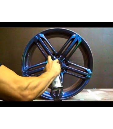 Spray vinilo Protector Plasti Dip Efecto Azul Metalizado 400ml