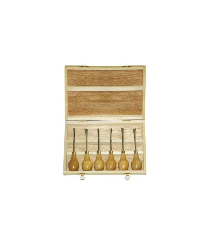 Caja madera gubias Talens 91400001