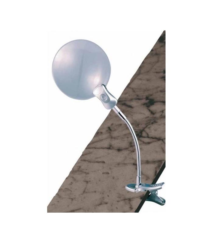 Lupa lámpara flexo con ajuste mesa