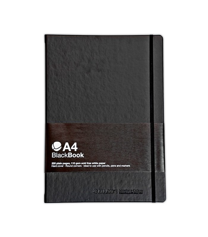 Bloc de Dibujo Blackbook MTN A4 Vertical