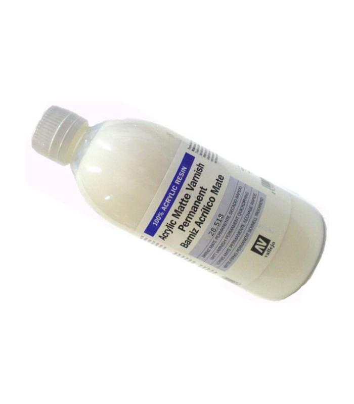 Barniz acrilico mate Vallejo 500 ml. 28518