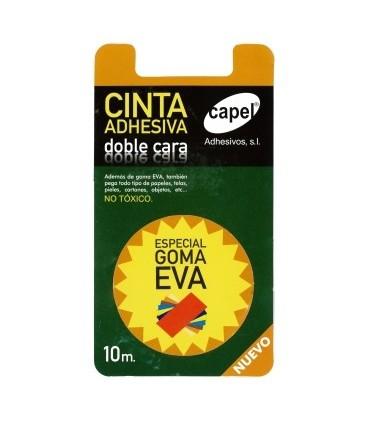 Cinta adhesiva doble cara especial goma eva 10m