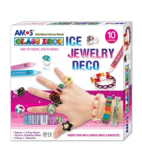Set joyeria creativa glass deco