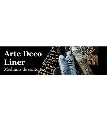 Contorno Arte Deco Liner Vallejo 20ml
