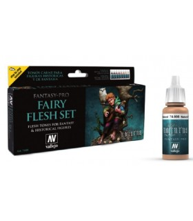 Set Vallejo Fantasy-Pro 8 u. 17 ml. Fairy Flesh Set