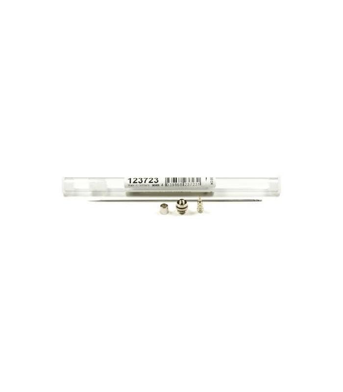 Set Obturador aguja y boquilla (0.6 mm) Harder & Steenbeck