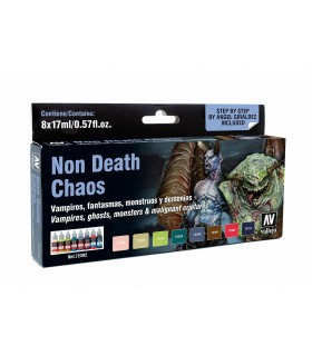 Set Game Color Non Death Chaos 72302 8 unidades Vallejo