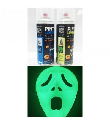 Spray fotoluminiscente verde 400ml