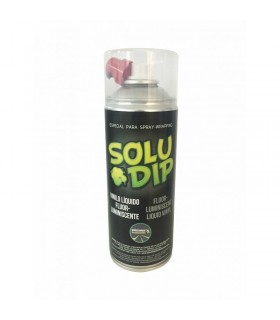 Spray vinilo liquido fluor-luminiscente colores 400ml