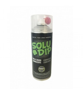 Spray vinilo liquido fotoluminiscente verde 400ml