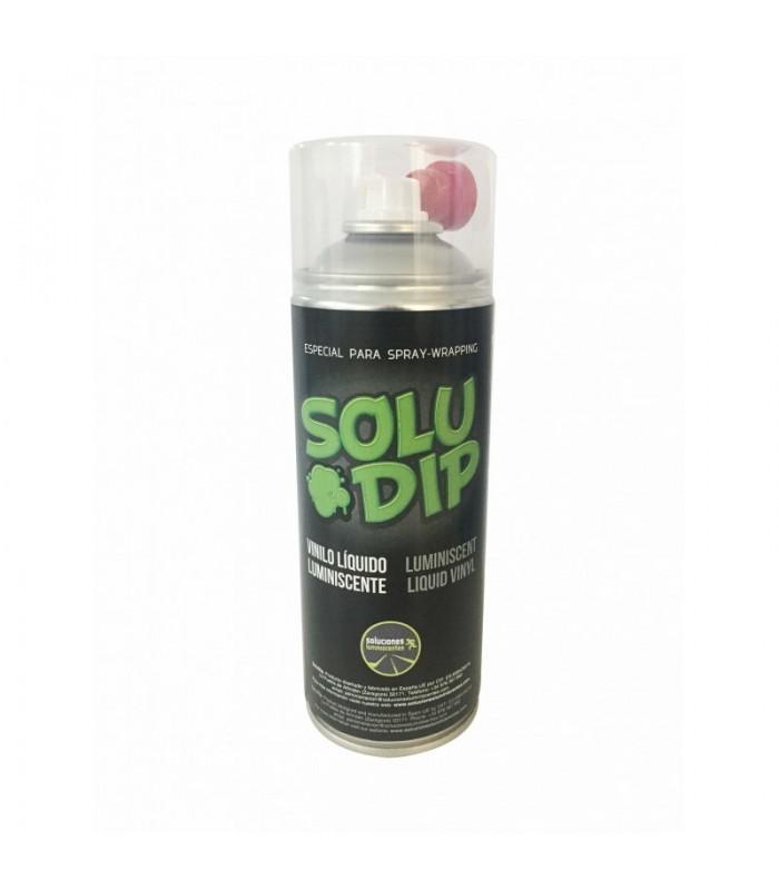 Spray vinilo liquido fotoluminiscente verde 400ml