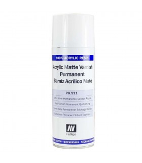 Spray Barniz acrilico mate Vallejo 400ml.