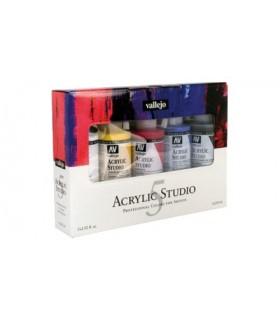 Set Acrylic Studio Vallejo 5x200ml