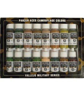 Set Panzer Aces Comouflage colors 70179 16u