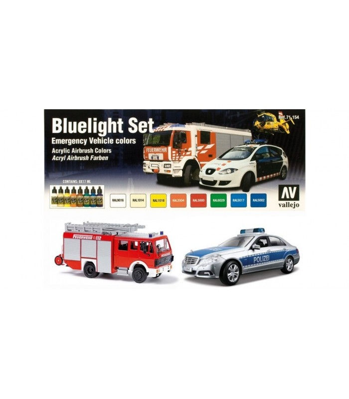 71154 Set Model air Bluelight Vallejo