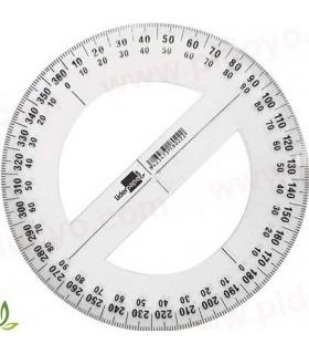 Transportador círculo completo 10cm