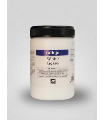 Gesso acrílico blanco 18480 500ml Vallejo