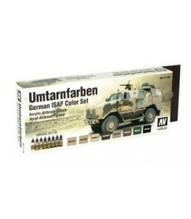 Set Umtarnfarben German ISAF model air 71159