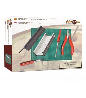 Kit 6 herramientas modelismo nº2 Afizon ingletadora