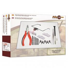Kit modelismo nº3 herramientas Afizon 1600003