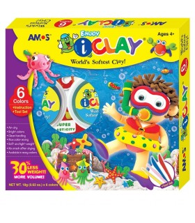 Set I Clay 6 colores IC307