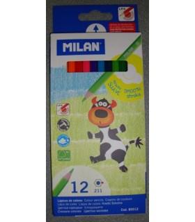 Set Milan 12 lápices de colores