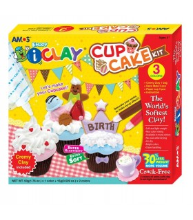 Set Cup Cake I-Clay