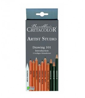 Set introducción dibujo Cretacolor 464 11