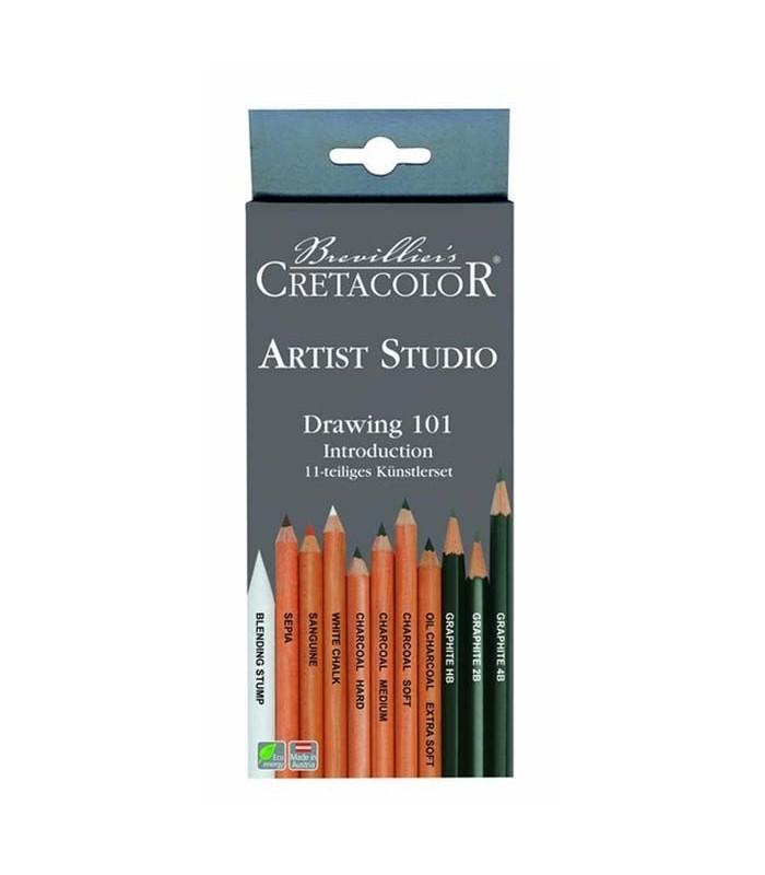 Set introducción dibujo Cretacolor 464 11