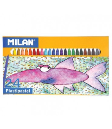 Set Milan 24 Plastipastel